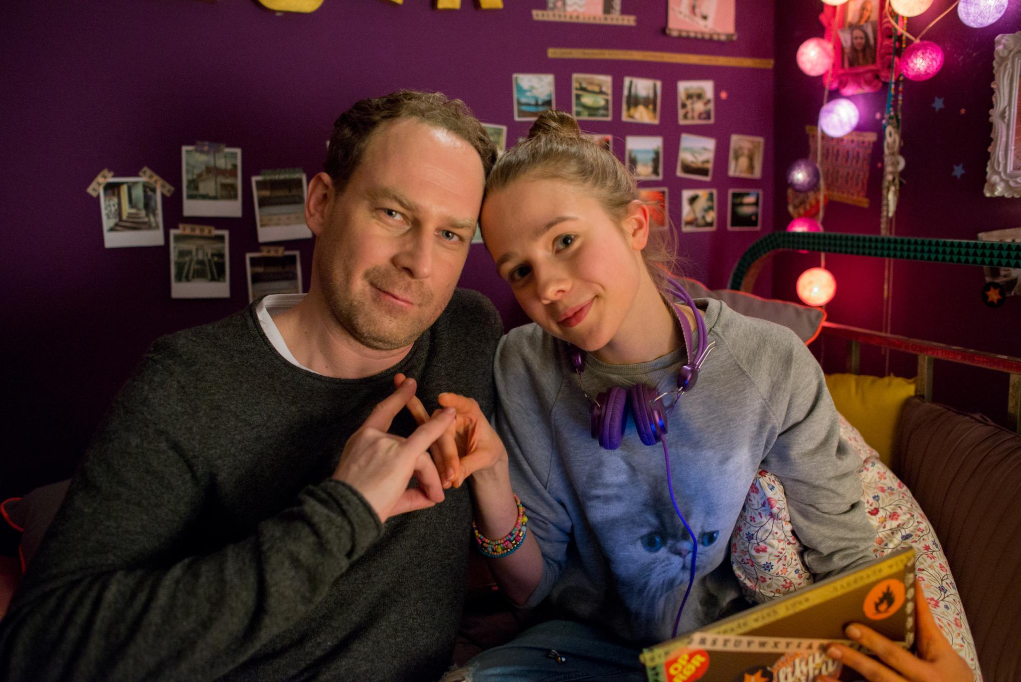 Magdalena Żak (Zuza) i Marcin Perchuć (Michał)